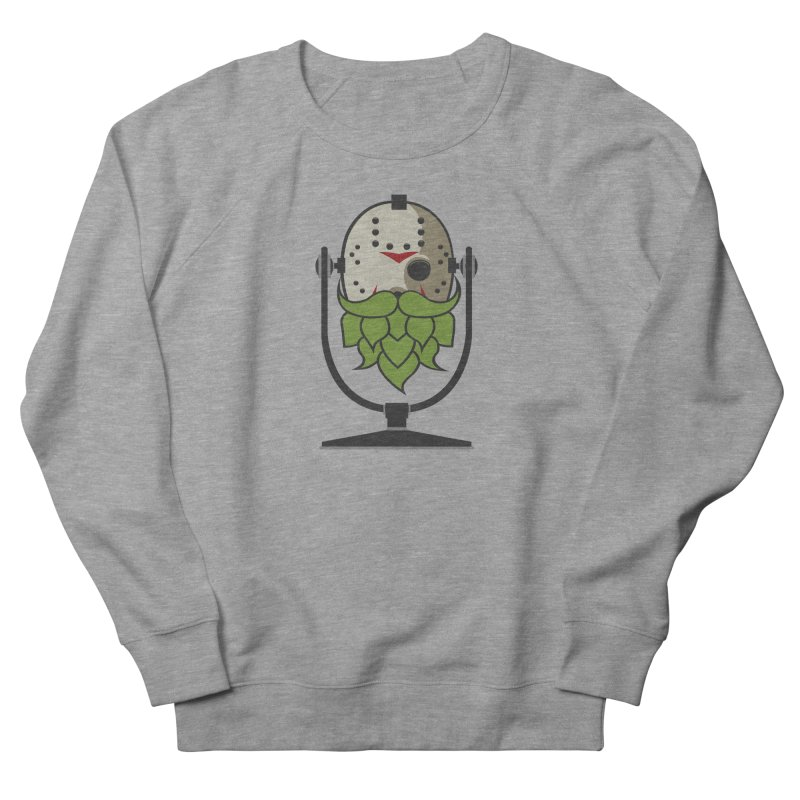 Halloween Hoppy - Jason Voorhees Men's French Terry Sweatshirt by Barrel Chat Podcast Merch Shop