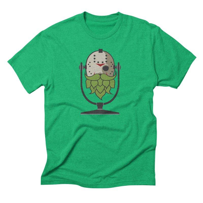 Halloween Hoppy - Jason Voorhees Men's Triblend T-Shirt by Barrel Chat Podcast Merch Shop