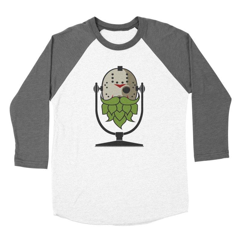 Halloween Hoppy - Jason Voorhees Men's Baseball Triblend Longsleeve T-Shirt by Barrel Chat Podcast Merch Shop