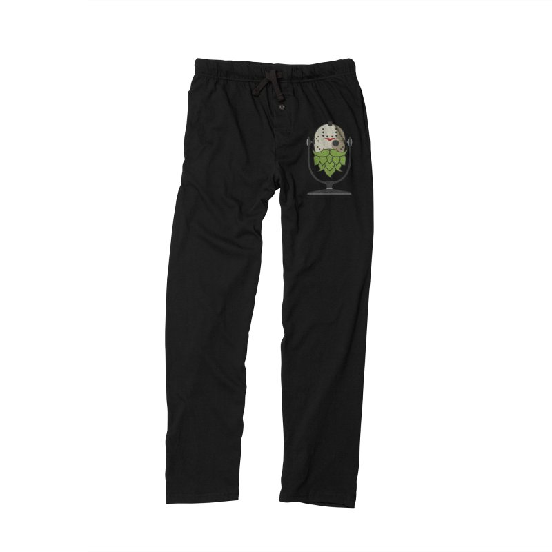 Halloween Hoppy - Jason Voorhees Men's Lounge Pants by Barrel Chat Podcast Merch Shop