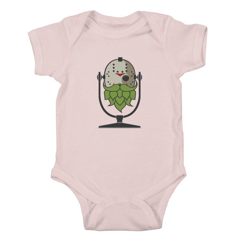 Halloween Hoppy - Jason Voorhees Kids Baby Bodysuit by Barrel Chat Podcast Merch Shop