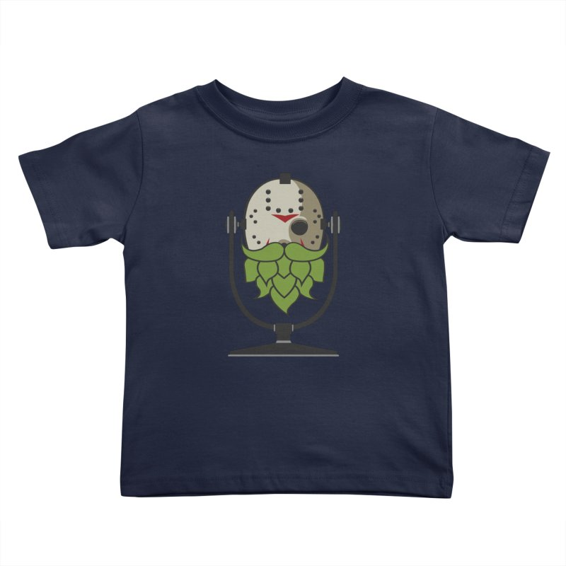 Halloween Hoppy - Jason Voorhees Kids Toddler T-Shirt by Barrel Chat Podcast Merch Shop