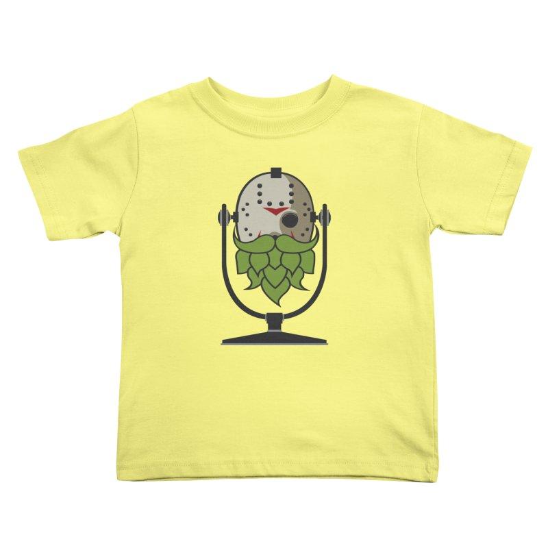 Halloween Hoppy - Jason Voorhees Kids Toddler T-Shirt by Barrel Chat Podcast Merch Shop