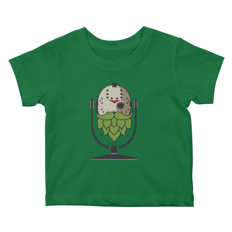Halloween Hoppy - Jason Voorhees Kids Baby T-Shirt by Barrel Chat Podcast Merch Shop