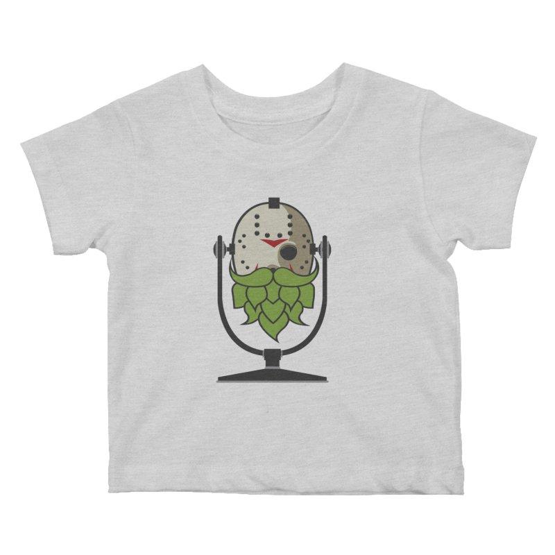 Halloween Hoppy - Jason Voorhees Kids Baby T-Shirt by Barrel Chat Podcast Merch Shop