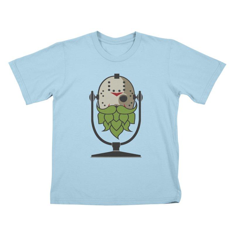 Halloween Hoppy - Jason Voorhees Kids T-Shirt by Barrel Chat Podcast Merch Shop