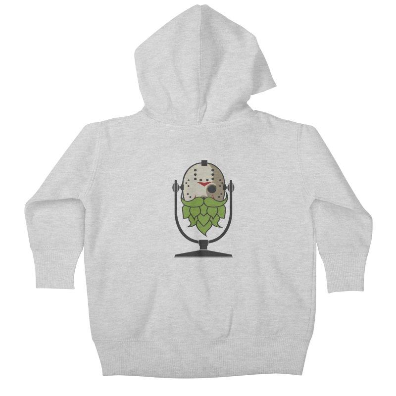 Halloween Hoppy - Jason Voorhees Kids Baby Zip-Up Hoody by Barrel Chat Podcast Merch Shop