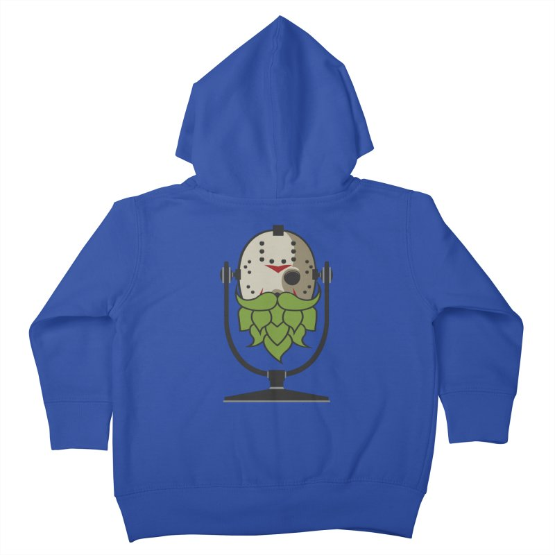 Halloween Hoppy - Jason Voorhees Kids Toddler Zip-Up Hoody by Barrel Chat Podcast Merch Shop