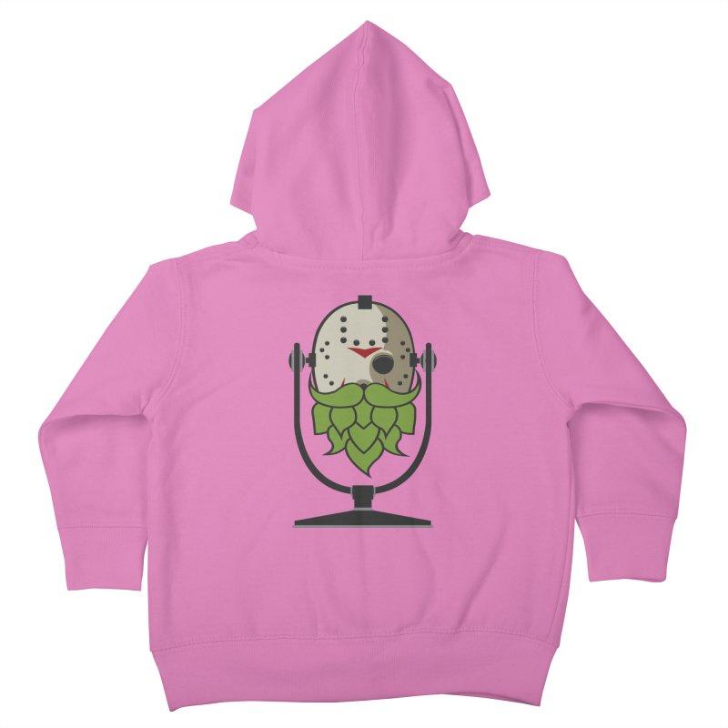 Halloween Hoppy - Jason Voorhees Kids Toddler Zip-Up Hoody by Barrel Chat Podcast Merch Shop