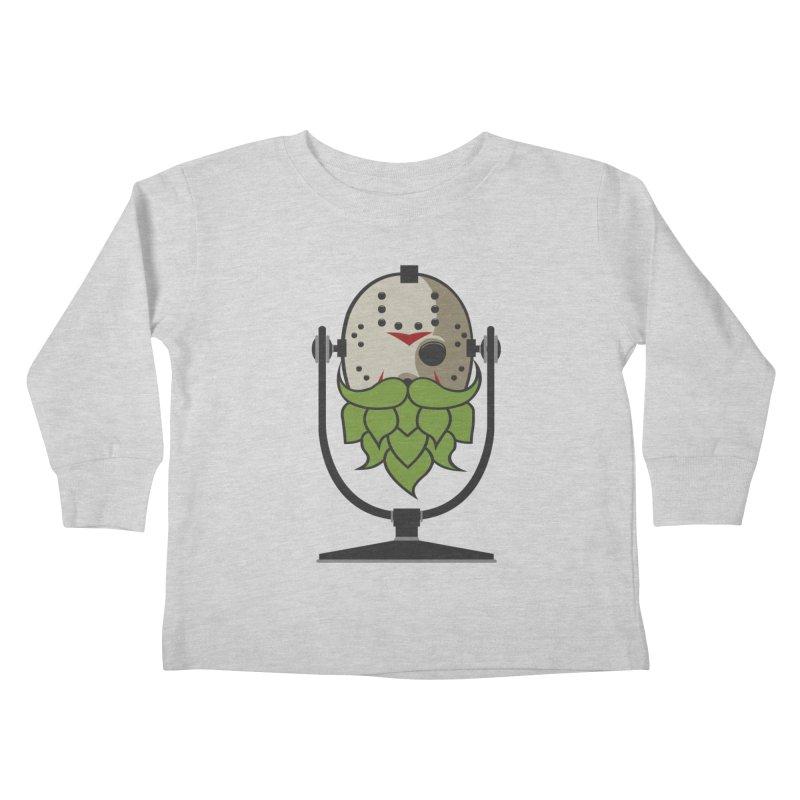 Halloween Hoppy - Jason Voorhees Kids Toddler Longsleeve T-Shirt by Barrel Chat Podcast Merch Shop