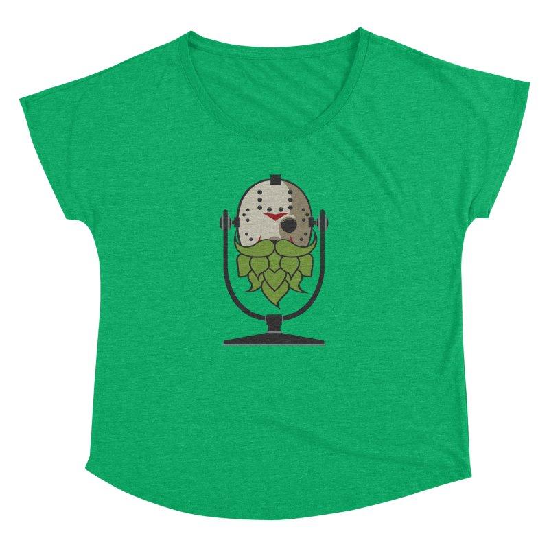 Halloween Hoppy - Jason Voorhees Women's Dolman Scoop Neck by Barrel Chat Podcast Merch Shop