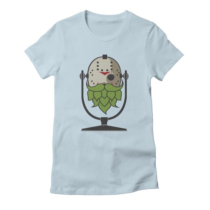 Halloween Hoppy - Jason Voorhees Women's Fitted T-Shirt by Barrel Chat Podcast Merch Shop