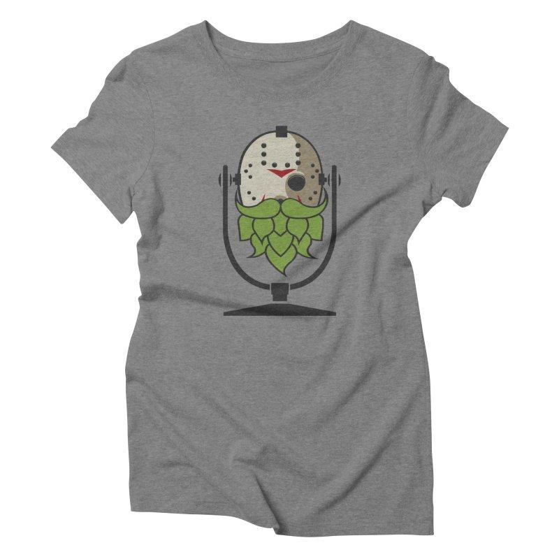Halloween Hoppy - Jason Voorhees Women's Triblend T-Shirt by Barrel Chat Podcast Merch Shop