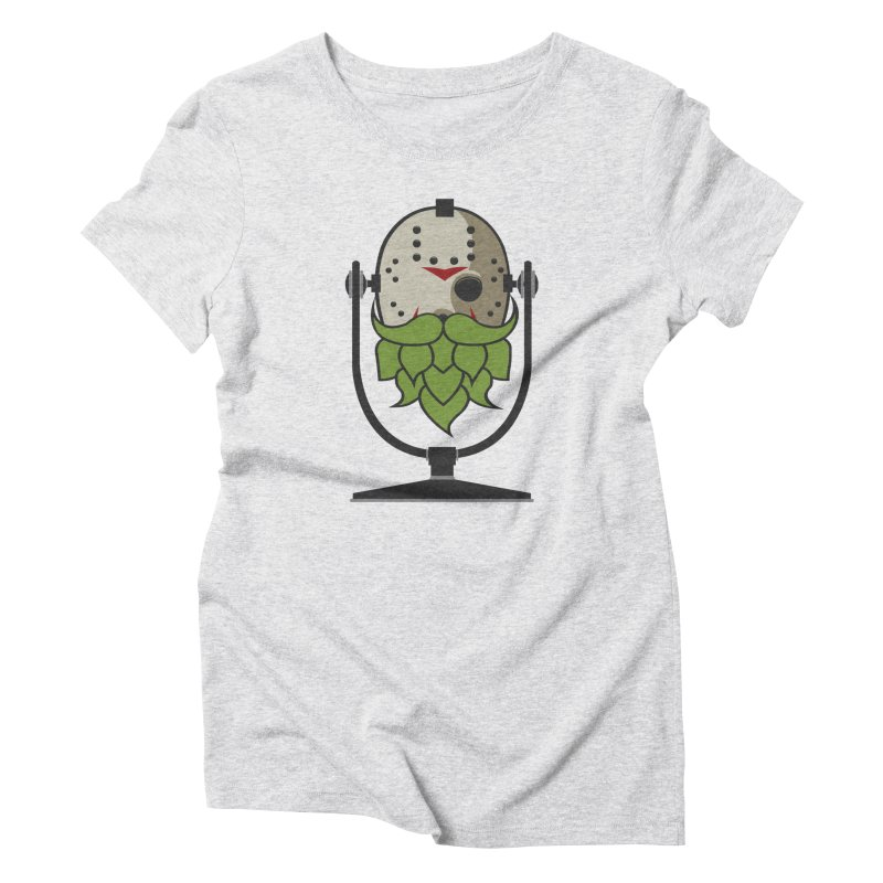 Halloween Hoppy - Jason Voorhees Women's Triblend T-Shirt by Barrel Chat Podcast Merch Shop