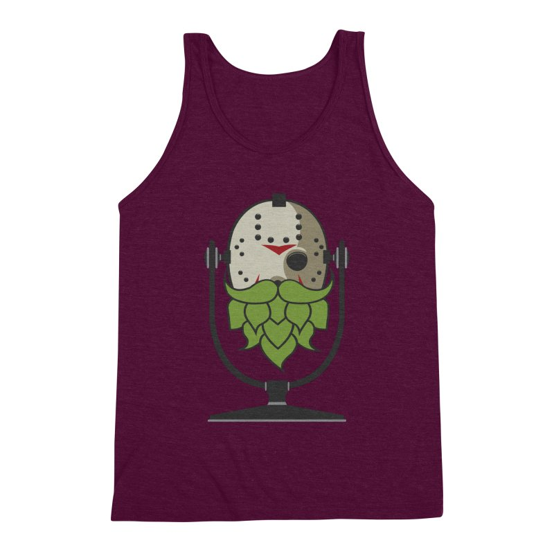 Halloween Hoppy - Jason Voorhees Men's Triblend Tank by Barrel Chat Podcast Merch Shop