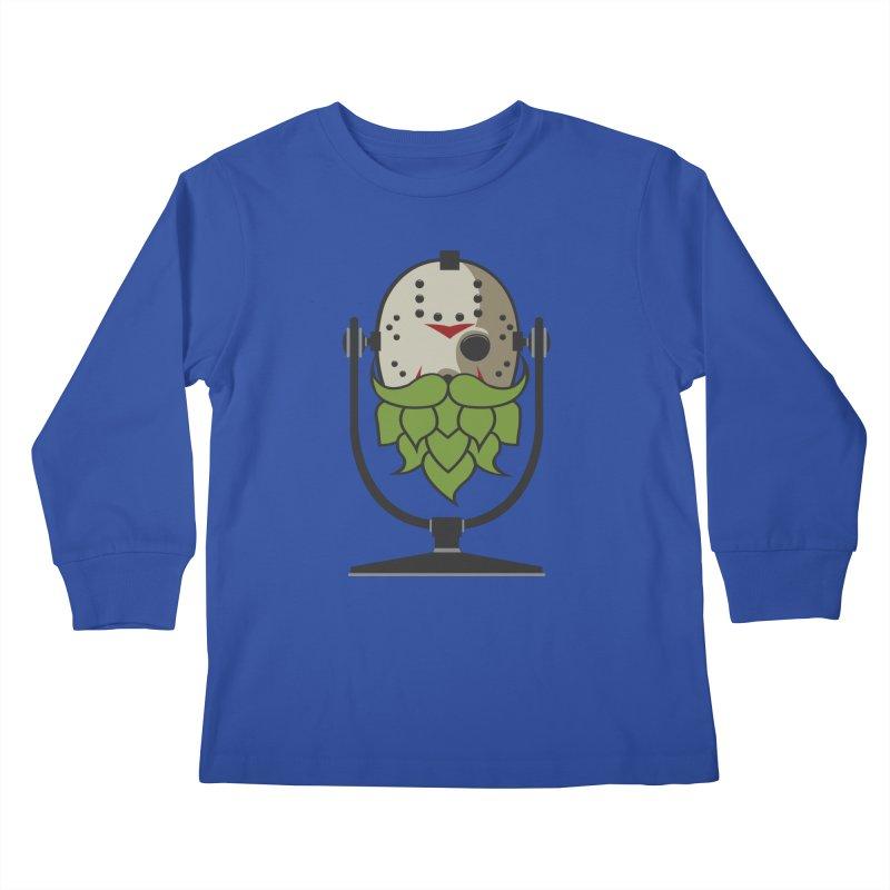 Halloween Hoppy - Jason Voorhees Kids Longsleeve T-Shirt by Barrel Chat Podcast Merch Shop