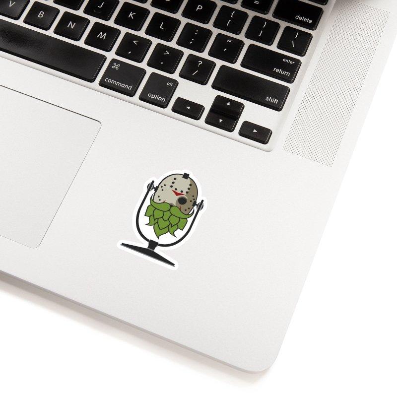 Halloween Hoppy - Jason Voorhees Accessories Sticker by Barrel Chat Podcast Merch Shop