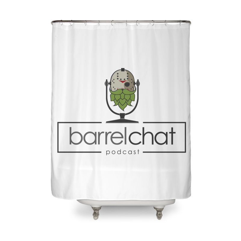 Barrel Chat Podcast - Halloween (Jason Voorhees) Home Shower Curtain by Barrel Chat Podcast Merch Shop