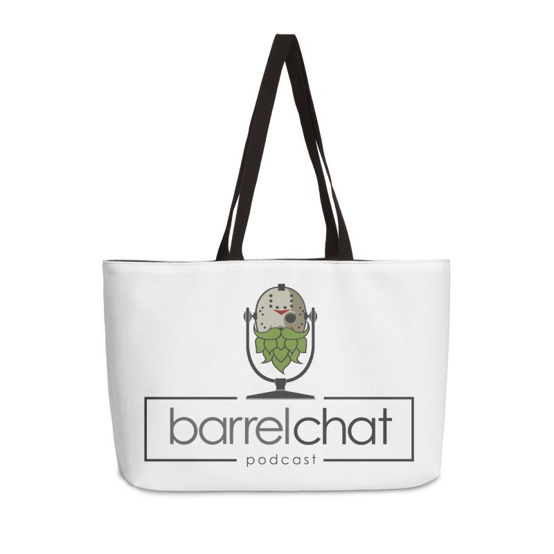 Barrel Chat Podcast - Halloween (Jason Voorhees) Accessories Weekender Bag Bag by Barrel Chat Podcast Merch Shop