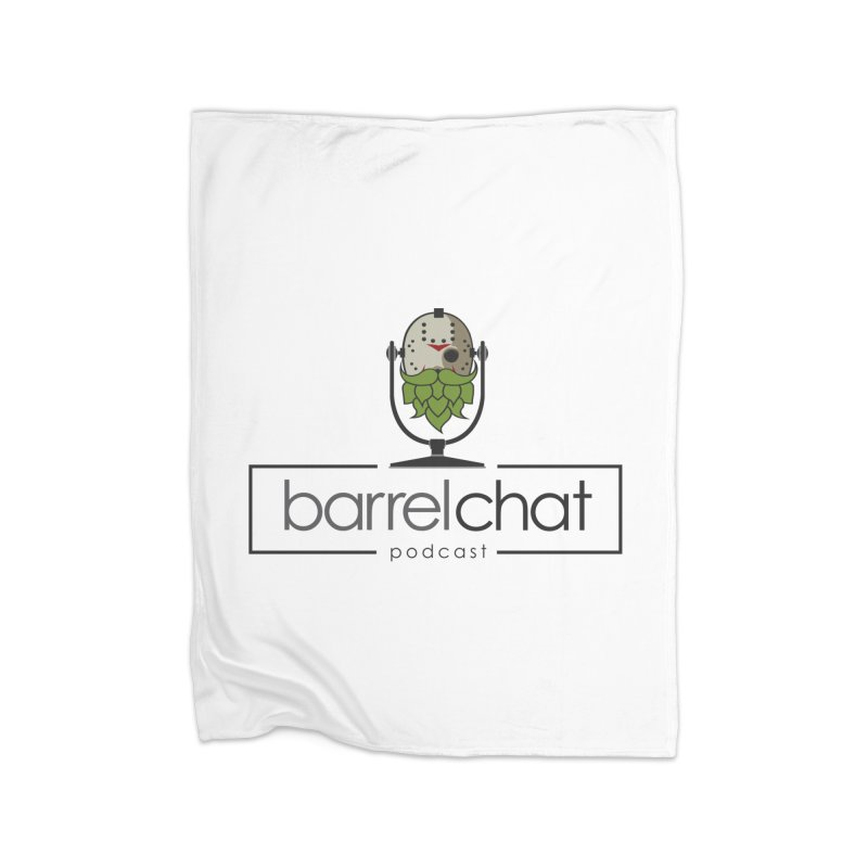 Barrel Chat Podcast - Halloween (Jason Voorhees) Home Blanket by Barrel Chat Podcast Merch Shop