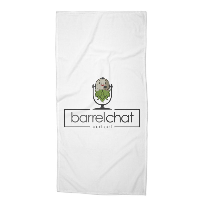 Barrel Chat Podcast - Halloween (Jason Voorhees) Accessories Beach Towel by Barrel Chat Podcast Merch Shop