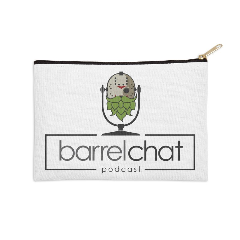 Barrel Chat Podcast - Halloween (Jason Voorhees) Accessories Zip Pouch by Barrel Chat Podcast Merch Shop