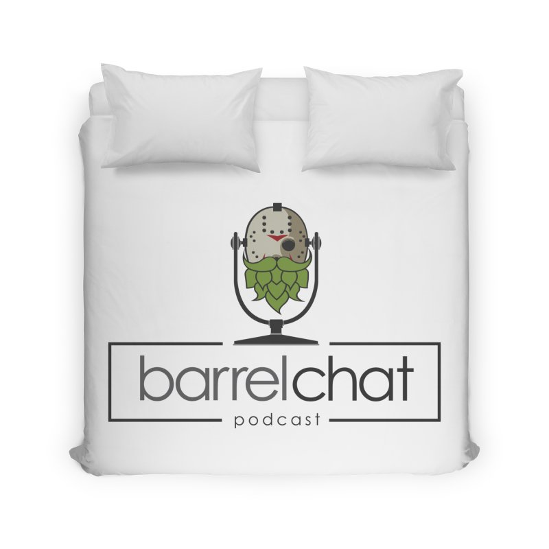 Barrel Chat Podcast - Halloween (Jason Voorhees) Home Duvet by Barrel Chat Podcast Merch Shop