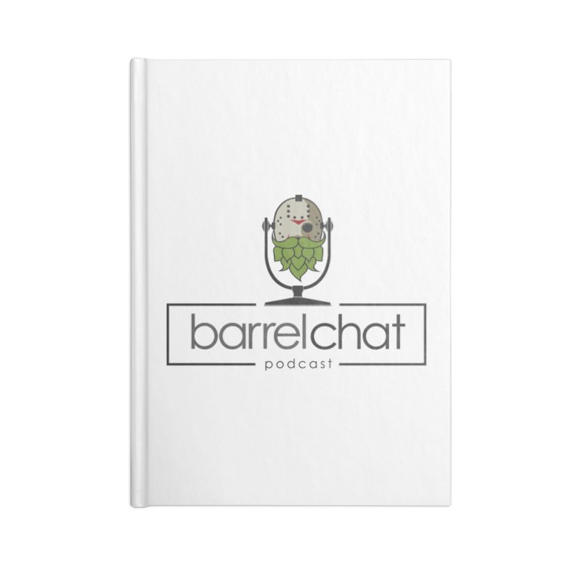 Barrel Chat Podcast - Halloween (Jason Voorhees) Accessories Blank Journal Notebook by Barrel Chat Podcast Merch Shop