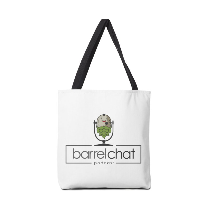 Barrel Chat Podcast - Halloween (Jason Voorhees) Accessories Tote Bag Bag by Barrel Chat Podcast Merch Shop