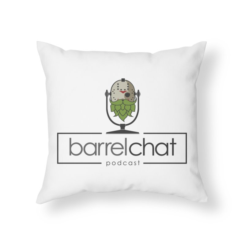 Barrel Chat Podcast - Halloween (Jason Voorhees) Home Throw Pillow by Barrel Chat Podcast Merch Shop