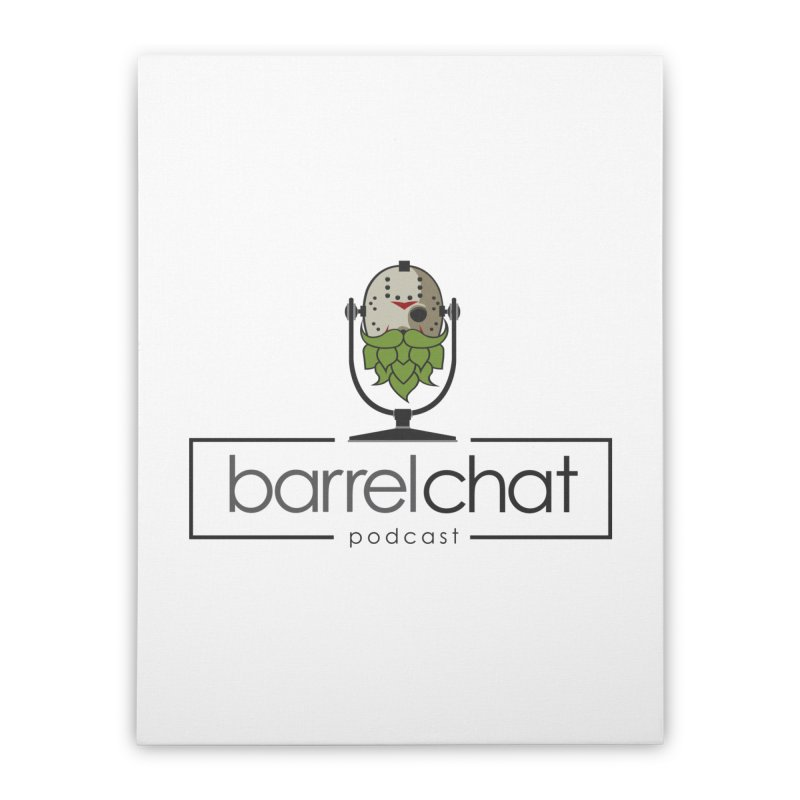 Barrel Chat Podcast - Halloween (Jason Voorhees) Home Stretched Canvas by Barrel Chat Podcast Merch Shop