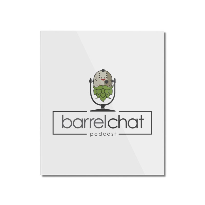 Barrel Chat Podcast - Halloween (Jason Voorhees) Home Mounted Acrylic Print by Barrel Chat Podcast Merch Shop