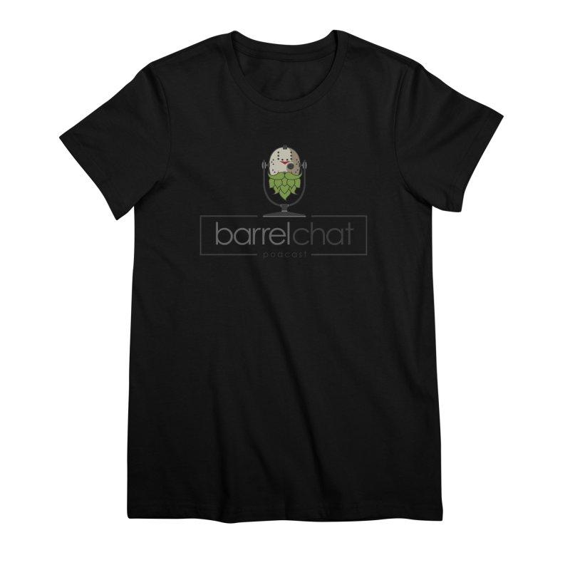 Barrel Chat Podcast - Halloween (Jason Voorhees) Women's Premium T-Shirt by Barrel Chat Podcast Merch Shop