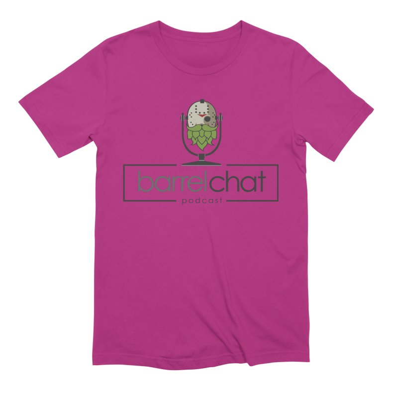 Barrel Chat Podcast - Halloween (Jason Voorhees) Men's Extra Soft T-Shirt by Barrel Chat Podcast Merch Shop