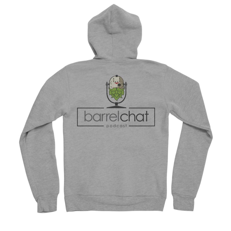 Barrel Chat Podcast - Halloween (Jason Voorhees) Men's Sponge Fleece Zip-Up Hoody by Barrel Chat Podcast Merch Shop