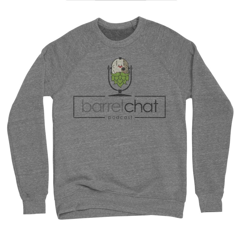 Barrel Chat Podcast - Halloween (Jason Voorhees) Men's Sponge Fleece Sweatshirt by Barrel Chat Podcast Merch Shop