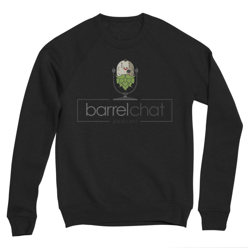 Barrel Chat Podcast - Halloween (Jason Voorhees) Men's Sponge Fleece Sweatshirt by Barrel Chat Podcast Merch Shop