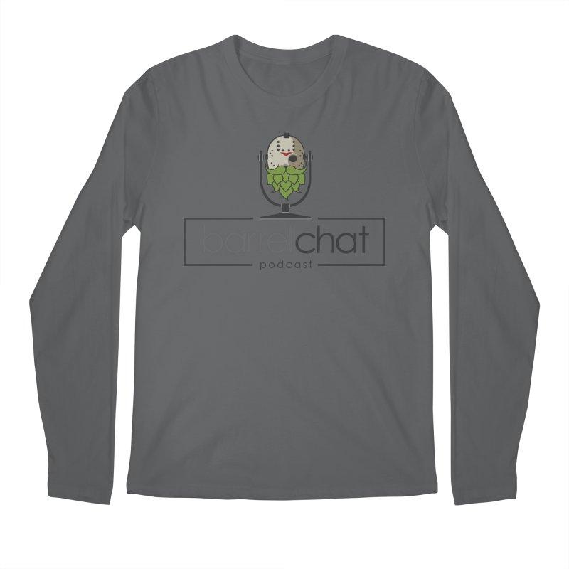 Barrel Chat Podcast - Halloween (Jason Voorhees) Men's Longsleeve T-Shirt by Barrel Chat Podcast Merch Shop