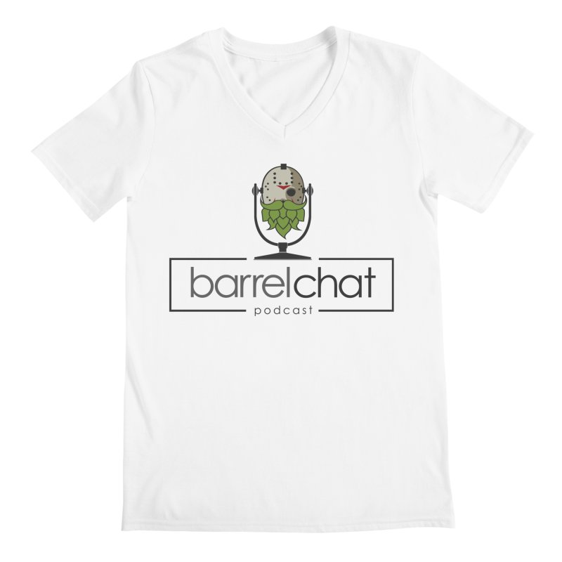 Barrel Chat Podcast - Halloween (Jason Voorhees) Men's V-Neck by Barrel Chat Podcast Merch Shop