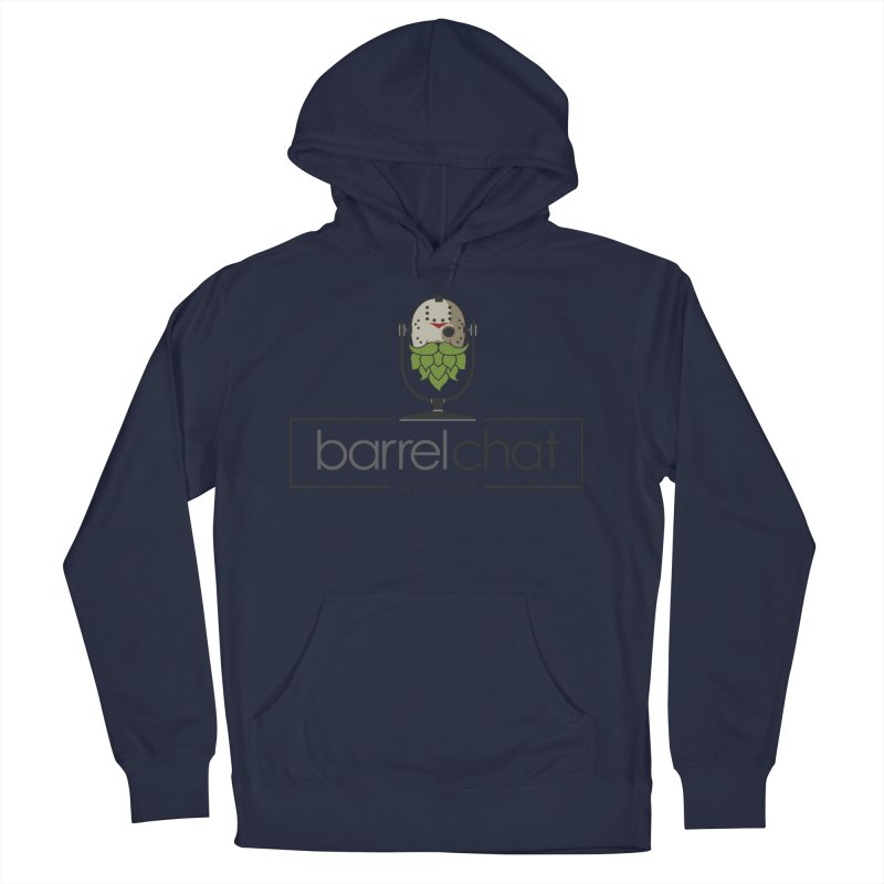 Barrel Chat Podcast - Halloween (Jason Voorhees) Men's French Terry Pullover Hoody by Barrel Chat Podcast Merch Shop