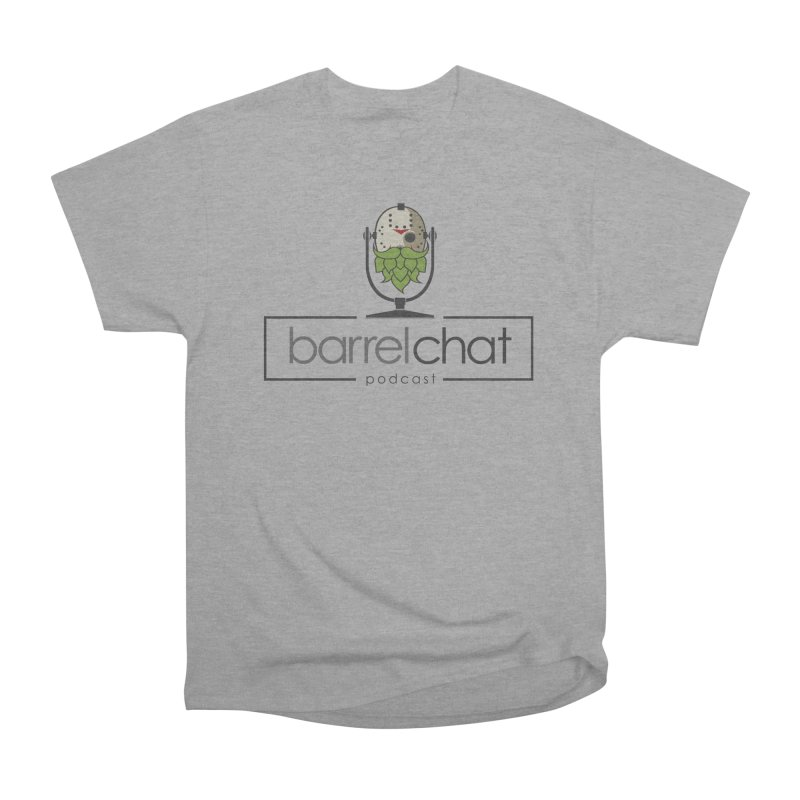 Barrel Chat Podcast - Halloween (Jason Voorhees) Men's Heavyweight T-Shirt by Barrel Chat Podcast Merch Shop