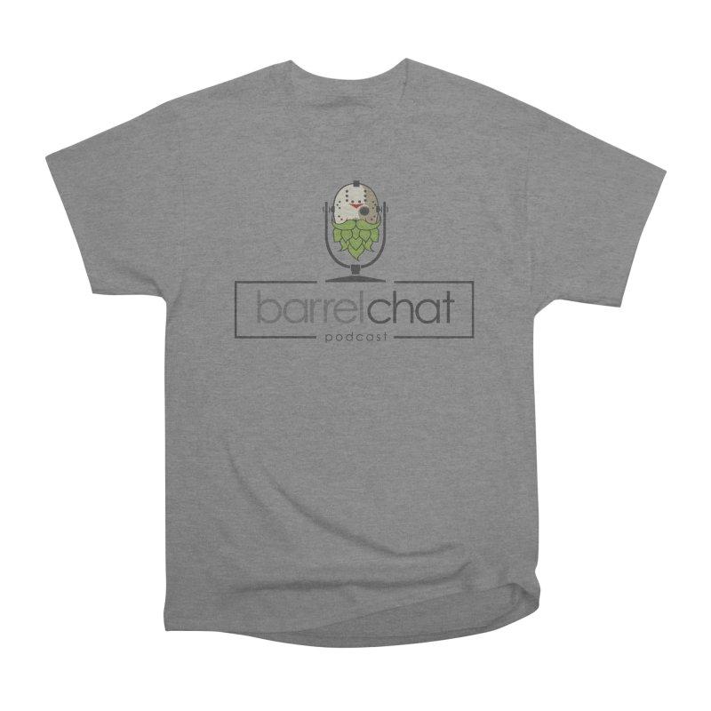 Barrel Chat Podcast - Halloween (Jason Voorhees) Women's Heavyweight Unisex T-Shirt by Barrel Chat Podcast Merch Shop