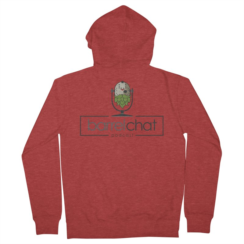 Barrel Chat Podcast - Halloween (Jason Voorhees) Women's French Terry Zip-Up Hoody by Barrel Chat Podcast Merch Shop