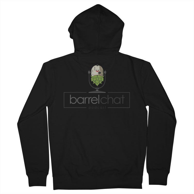 Barrel Chat Podcast - Halloween (Jason Voorhees) Men's French Terry Zip-Up Hoody by Barrel Chat Podcast Merch Shop