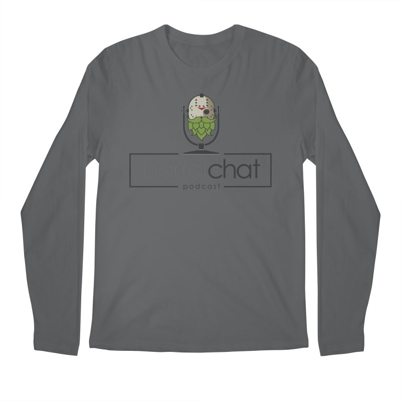 Barrel Chat Podcast - Halloween (Jason Voorhees) Men's Longsleeve T-Shirt by Barrel Chat Podcast Merch Shop