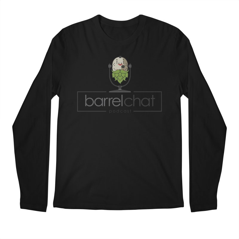 Barrel Chat Podcast - Halloween (Jason Voorhees) Men's Regular Longsleeve T-Shirt by Barrel Chat Podcast Merch Shop