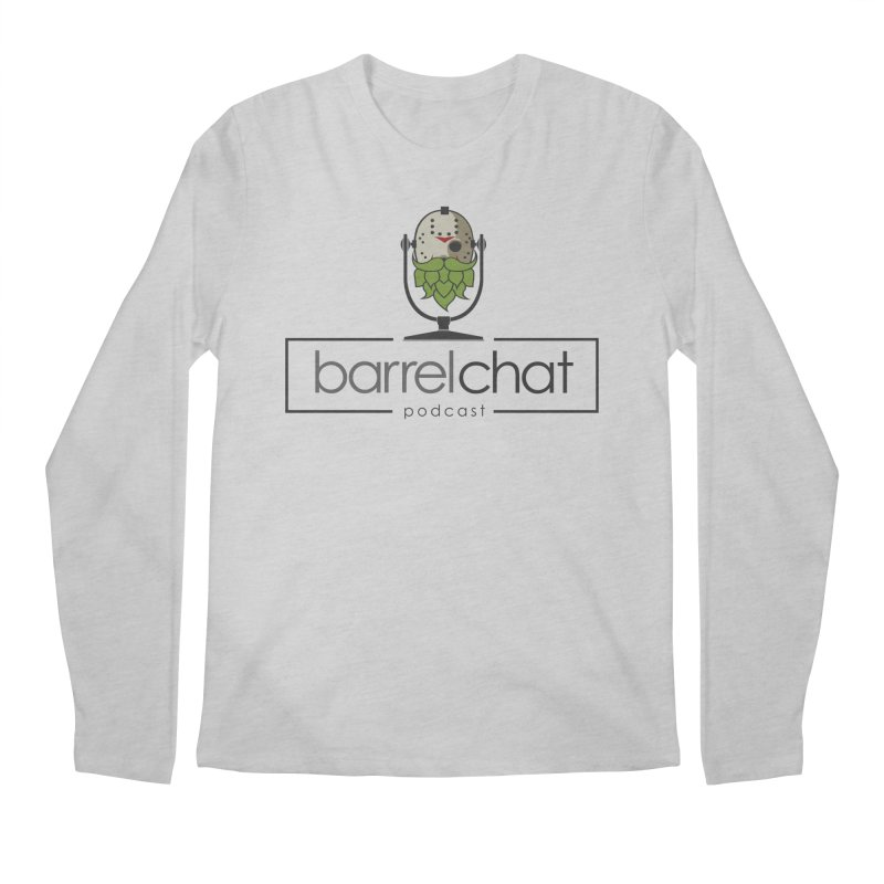 Barrel Chat Podcast - Halloween (Jason Voorhees) Men's Regular Longsleeve T-Shirt by Barrel Chat Podcast Merch Shop