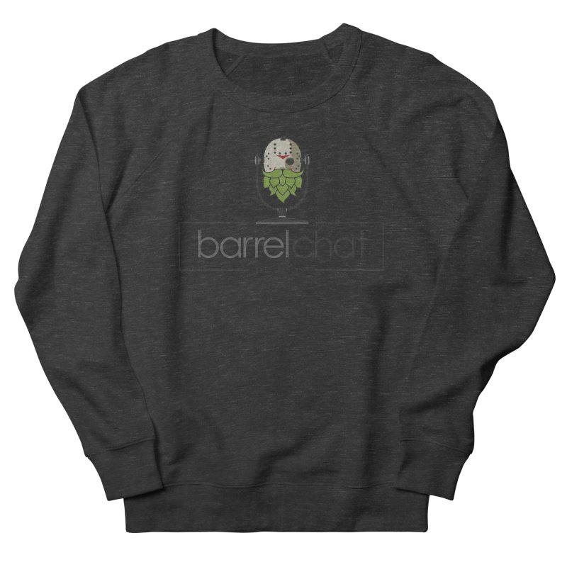 Barrel Chat Podcast - Halloween (Jason Voorhees) Men's French Terry Sweatshirt by Barrel Chat Podcast Merch Shop