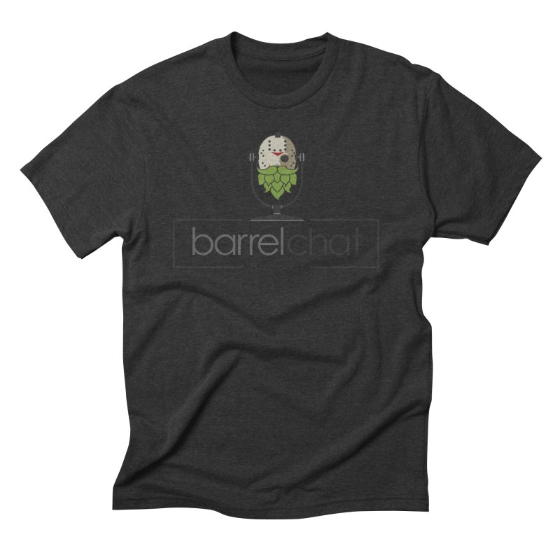 Barrel Chat Podcast - Halloween (Jason Voorhees) Men's Triblend T-Shirt by Barrel Chat Podcast Merch Shop