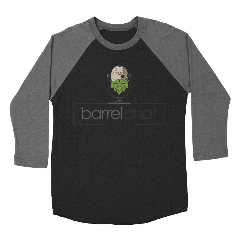 Barrel Chat Podcast - Halloween (Jason Voorhees) Women's Baseball Triblend Longsleeve T-Shirt by Barrel Chat Podcast Merch Shop